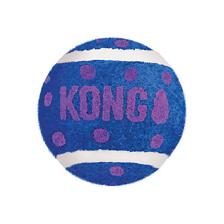 KONG Cat Active Tennis Balls with Bells, CA56