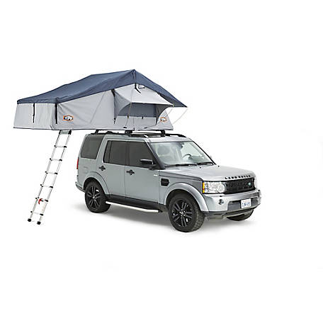 Tepui Rooftop Tent Ruggedized Series Autana 4 Haze Gray with Annex