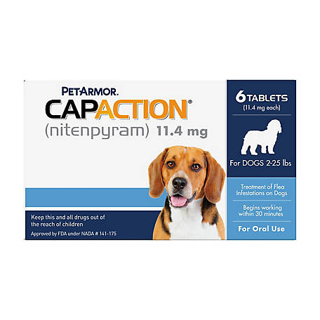 PetAction CapAction Dogs 2-25 lb., 711650110006