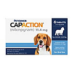 PetAction CapAction Oral Flea Treatment for Dogs 2-25 lb., 711650110006