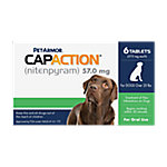 PetAction CapAction Oral Flea Treatment for Dogs Over 25 lb., 711650130006