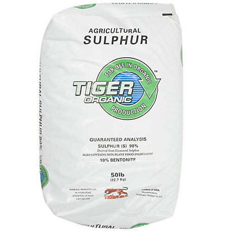 Howard Johnson's Enterprises 0-0-0 Elemental Sulfur 40/50 lb., 100207733