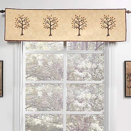 Donna Sharp Autumn Tree Of Life Valance Runner