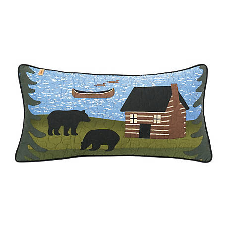 Donna Sharp Bear River Rectangle Decorative Pillow