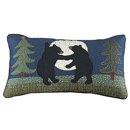 Donna Sharp Bear Dance Rectangle Decorative Pillow