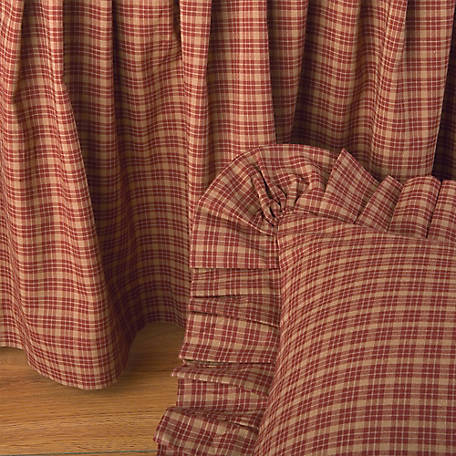 Donna Sharp Campfire Plaid Bedskirt