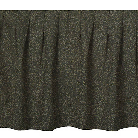 Donna Sharp Forest Green Bedskirt