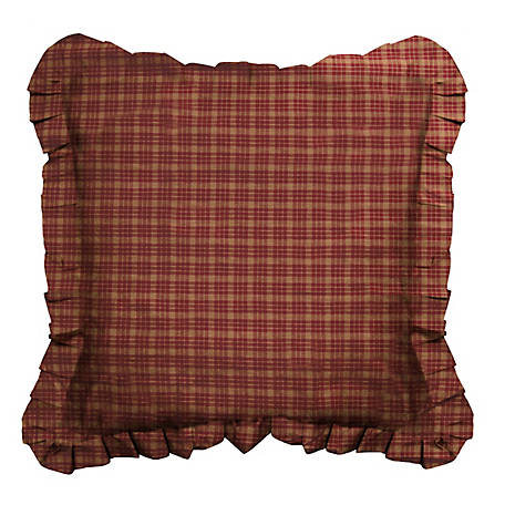 Donna Sharp Pine Lodge Plaid Eurosham