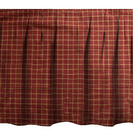 Donna Sharp Pine Lodge Plaid Bedskirt