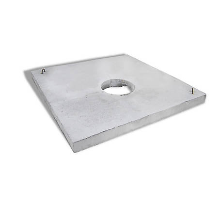 5 ft. Waterer Pad Concrete, CWP5