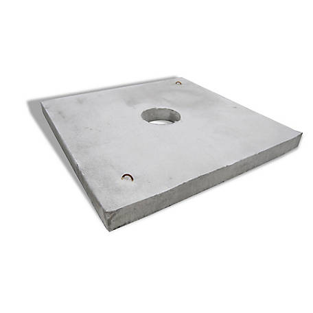 6 ft. Waterer Pad Concrete, CWP6