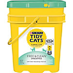Purina Tidy Cats Clumping Cat Litter, Free & Clean Unscented Multi Cat Litter, 35 lb. Pail, 70230168580