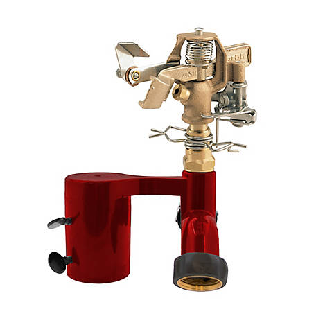 Orbit T Post Sprinkler with Brass Impact, 56743