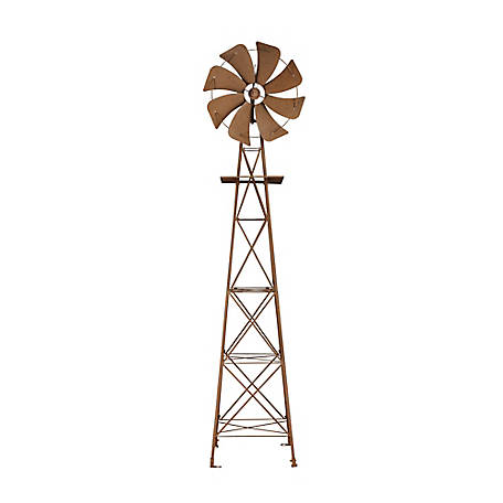 Red Shed Rustic Windmill, 10 ft.