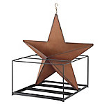 Red Shed Rustic Star Hanging Planter