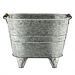 Red Shed Metal Oval Planter with Stands