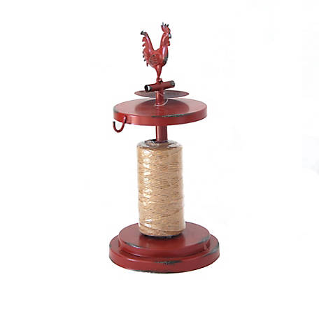 Red Shed Metal Rooster Twine Dispenser