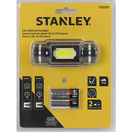 Stanley 250 Lumen Headlight, 65436