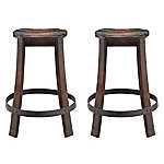 Red Shed Wooden Barrel Stool Set, JFT16049B