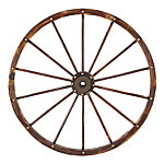 Red Shed Wagon Wheel, 42 in. , JFT18010L