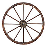 Red Shed Wagon Wheel, 35 in. , JFT18010S
