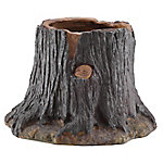 Red Shed Tree Stump Planter