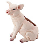 Red Shed Pig Planter, Large