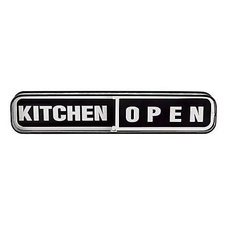 Red Shed Kitchen Open Sign