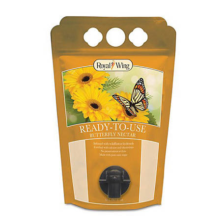Royal Wing Butterfly Food Ready to Use Nectar, 1.5L