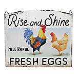 Red Shed Fresh Eggs Merchant Sign