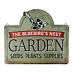 Red Shed Bluebird's Nest Merchant Sign