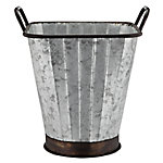 Red Shed Square Metal Bucket