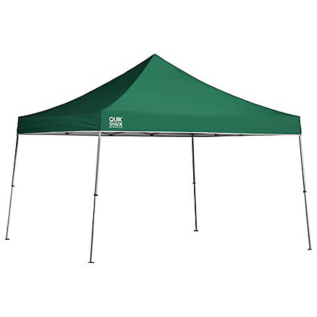 Quik Shade Weekender Elite We144  Ft Straight Leg Pop Up Canopy Green At Tractor Supply Co
