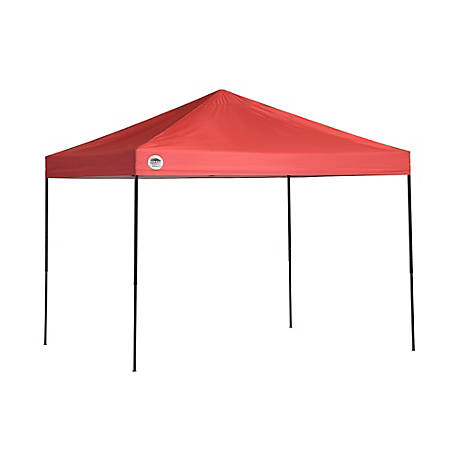 Quik Shade Shade Tech St80  Straight Leg Pop Up Canopy Red At Tractor Supply Co