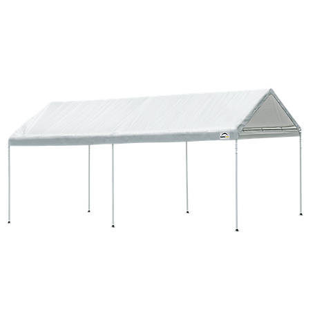 Quik Shade Commercial C100 10 x 10 ft. Straight Leg Pop-Up Canopy, White