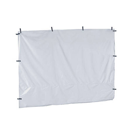 Quik Shade 100 sq. ft. Pop-Up Canopy Wall Panel, White, 157641DS