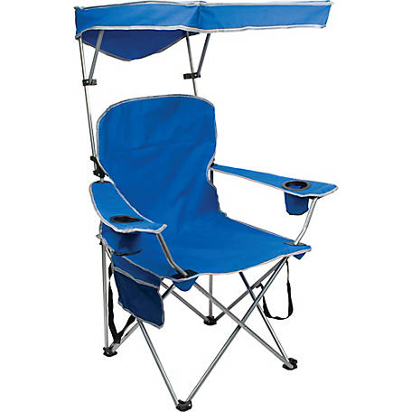 Quik Chair Full Size Shade Chair with Royal Blue Fabric at Tractor Supply  Co