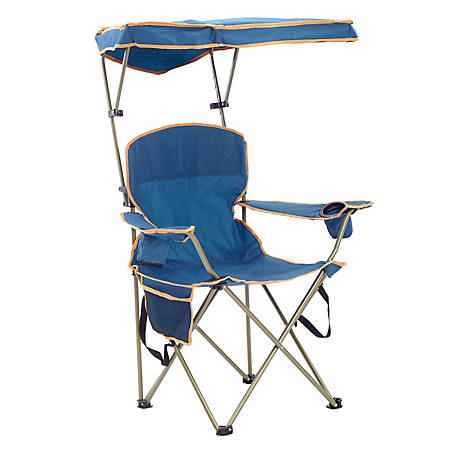 Quik Chair Max Shade Chair with Navy Fabric