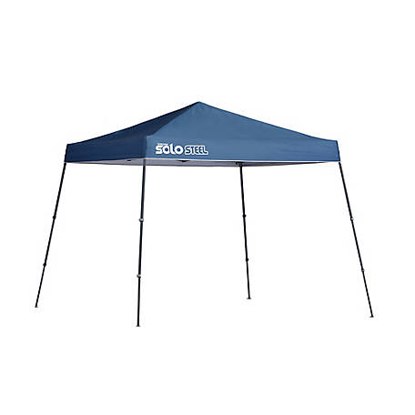 Solo Steel SOLO64 10 x 10 ft. Slant Leg Pop-Up Canopy