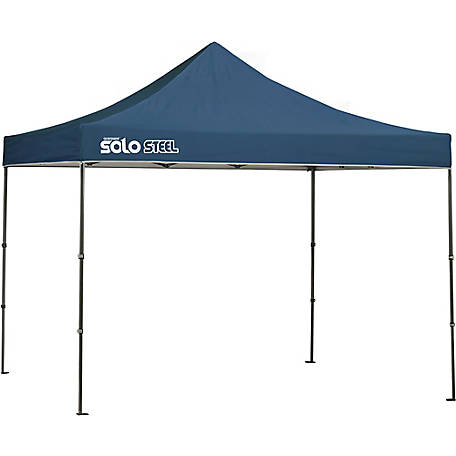Solo Steel SOLO100 10 x 10 ft. Straight Leg Pop-Up Canopy