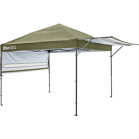 Solo Steel SOLO170 10 x 10 ft. Straight Leg Pop-Up Canopy