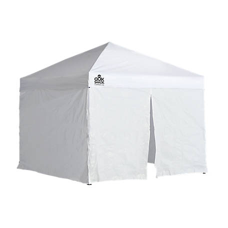 Expedition One Push EX100 10 x 10 ft. Straight Leg Pop-Up Canopy