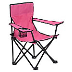 Quik Chair Kid's Folding Chair with Pink Fabric