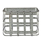 Red Shed Metal Basket Crate