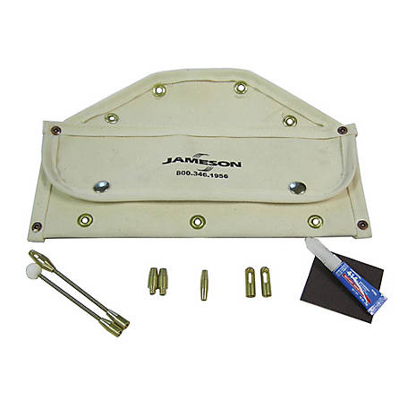 Jameson Little Buddy Accessory Kit for 3/16-inch Rod