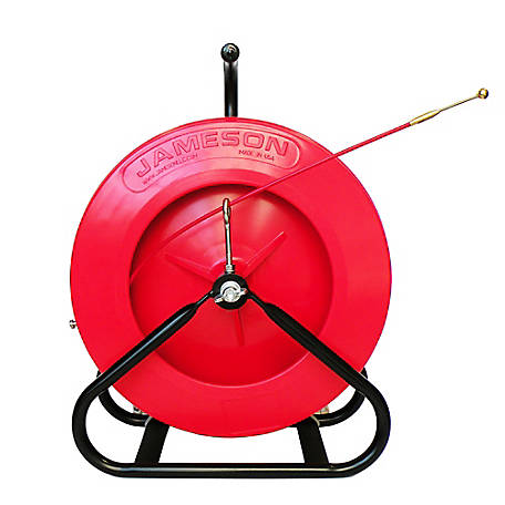 Jameson Mini Duct Hunter Traceable Rodder with 100 Feet of 3/16-inch Rod