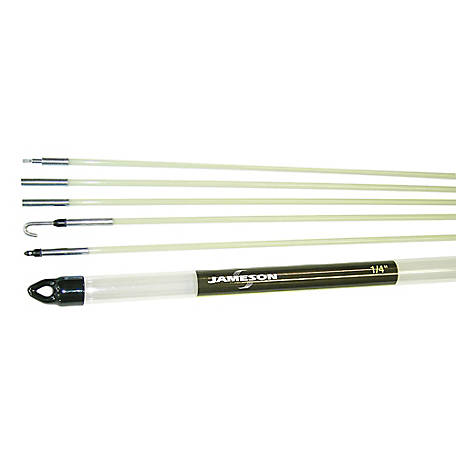 Jameson Glow Rod Kit with 24 Feet of Fiberglass Fish Rod