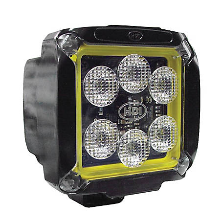 Jameson HDI Series 33-watt LED Equipment Light, Spot/Wide Beam, 3000 lumen