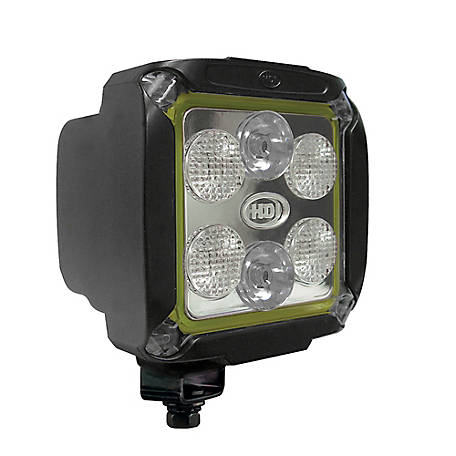 Jameson HDI Series 14-watt LED Equipment Light, Spot/Wide Beam, 1380 lumen
