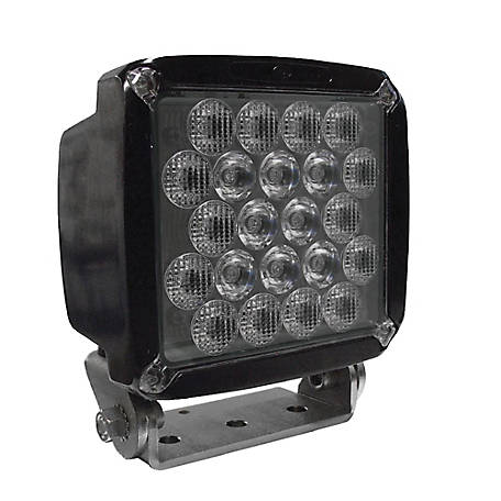 Jameson HDI Series 50-watt LED Equipment Light, Spot/Wide Beam, 5000 lumen